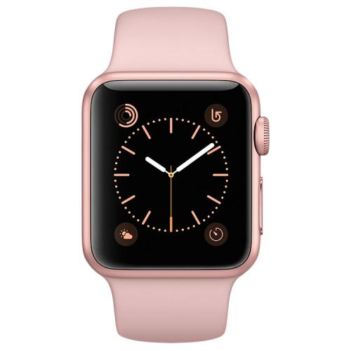 Умные часы Apple Watch MNNH2 38mm Rose Gold Aluminum Case with Pink Sand Sport Band