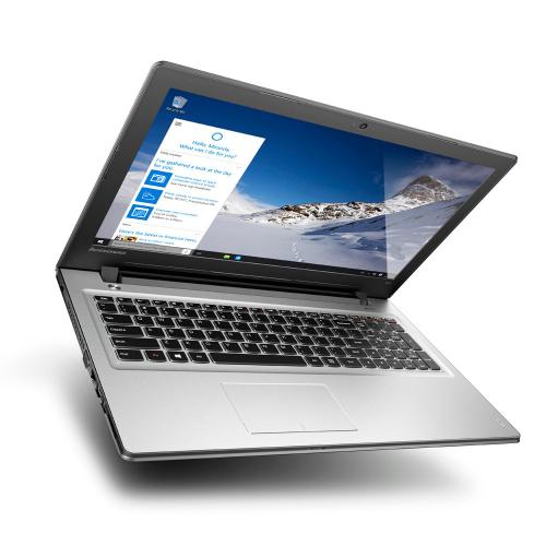 "Lenovo Ideapad 300 Intel N3060 (up to 2.48 GHz), 4GB, 500GB, Intel Graphics 400, DVD±RW, USB 3.0, 15.6"" LED, WiFi, Dolby, Silver, Eng-Rus"