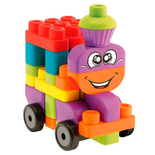 Конструктор игрушка Chicco building blocks - 60136