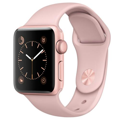 Умные часы Apple Watch series 2 MNNY2 38mm Rose Gold Aluminum Case with Pink Sand Sport Band