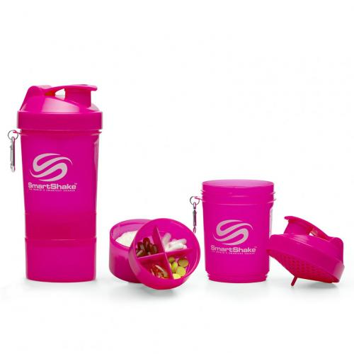 Шейкер SmartShake розовый